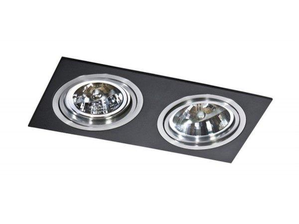 Lampa techniczna SIRO 2 Black AZzardo GM2200 BK/ALU