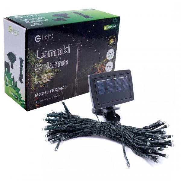 Lampa Solarna Pod Parasol Ogrodowy EKO0443 Eko-Light