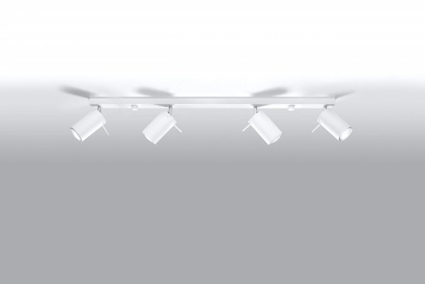 Plafon RING 4L biały SL.0331 Sollux
