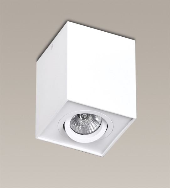MAXLIGHT C0070 LAMPA SUFITOWA BASIC SQUARE BIAŁA
