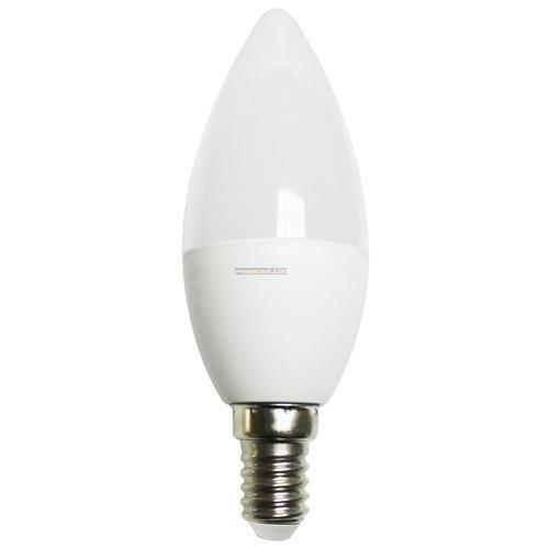 Żarówka E14 7 LED SMD 2835 6W CCD świeczka zimna biała