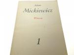 DZIEŁA POETYCKIE TOM 1 WIERSZE - Mickiewicz 1983