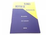 WZORY DEFINICJE MATEMATYCZNE DLA UCZNIÓW 2003/04