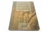 LEKSYKON TERMINÓW LITERACKICH - M. Krassowski
