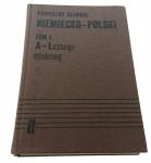 PODRĘCZNY SŁOWNIK NIEMIECKO-POLSKI TOM I (1983)