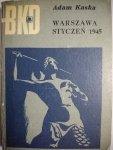 WARSZAWA STYCZEŃ 1945 - Adam Kaska 1971