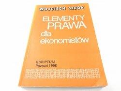 ELEMENTY PRAWA DLA EKONOMISTÓW - W. Siuda 1998