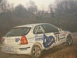 RAJD WRC 2005 ZDJĘCIE NUMER #295 HONDA CIVIC