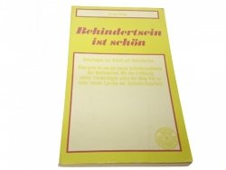 BEHINDERSTEIN IST SCHON - Ernest Klee (1974)