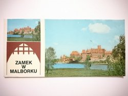 ZAMEK W MALBORKU - 6 ODRYWANYCH POCZTÓWEK FOT. DUDLEY