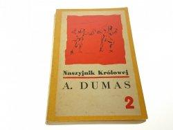 NASZYJNIK KRÓLOWEJ TOM 2 - Aleksander Dumas (1968)