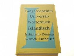 LANGENSCHEIDTS UNIVERSAL WORTERBUCH ISLANDISCH