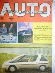 AUTO TECHNIKA MOTORYZACYJNA STYCZEŃ 1988