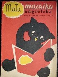 MAŁA MOZAIKA ANGIELSKA NR 10 (130) PAŹDZIERNIK 1970