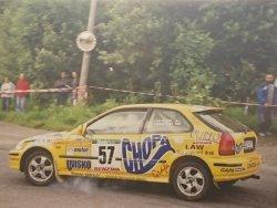 RAJD WRC 2005 ZDJĘCIE NUMER #003 HONDA CIVIC