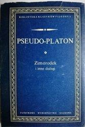 ZIMORODEK I INNE DIALOGI - Pseudo-Platon 1985