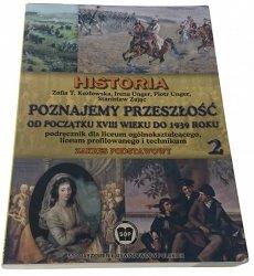 HISTORIA. POZNAJEMY PRZESZŁOŚĆ 2 - Kozłowska 2003