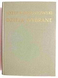 DZIEŁA WYBRANE TOM VIII KOMEDIE - Józef Korzeniowski 1954