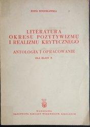 LITERATURA OKRESU POZYTYWIZMU I REALIZMU KRYTYCZNEGO
