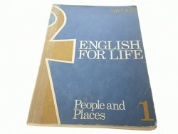 ENGLISH FOR LIFE 1 PEOPLE AND PLACES V J Cook 1988