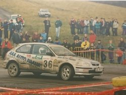 RAJD WRC 2005 ZDJĘCIE NUMER #008 HONDA CIVIC