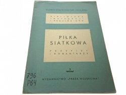 PIŁKA SIATKOWA. PRZEPISY I KOMENTARZE 1950