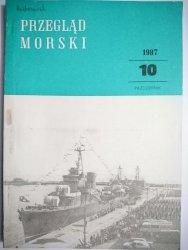 PRZEGLĄD MORSKI NR 10 PAŹDZIERNIK 1987