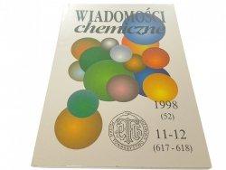 WIADOMOŚCI CHEMICZNE 1998 (52) 11-12 (617-618)