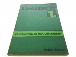 DEUTSCH TEIL 1b EIN LEHRBUCH FUR AUSLANDER 1989