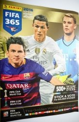 FIFA 365 2016 OFFICIAL STICKER ALBUM. 5 NAKLEJEK