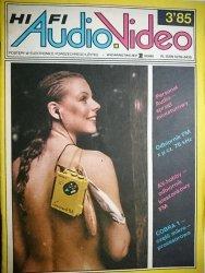 HIFI AUDIO VIDEO NR 3'85