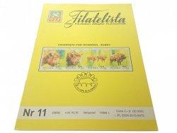 FILATELISTA NR 11 (889) ROK XLIII LISTOP 1996