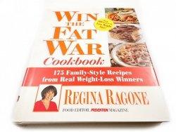 WIN THE FAT WAR COOKBOOK - Regina Ragone 2001
