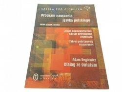 PROGRAM NAUCZANIA JĘZYKA POLSKIEGO (2003)
