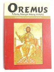 OREMUS 1-26 LISTOPADA 2011