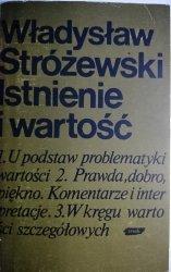 ISTNIENIE I WARTOŚĆ - Władysław Stróżewski 1981
