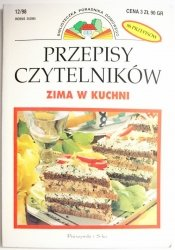 PRZEPISY CZYTELNIKÓW. ZIMA W KUCHNI  1998
