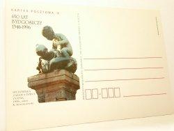 KARTKA POCZTOWA #007 650 LAT BYDGOSZCZY 1346-1996