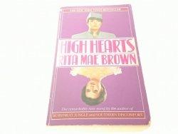 HIGH HEARTS - Rita Mae Brown 1987