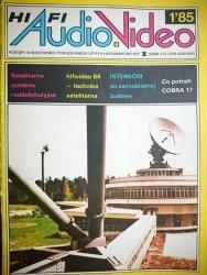 HIFI AUDIO VIDEO NR 1'85