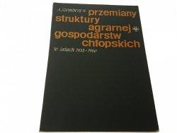 PRZEMIANY STRUKTURY AGRARNEJ GOSPODARSTW (1962)