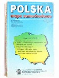 POLSKA MAPA SAMOCHODOWA 1: 750 000 1995