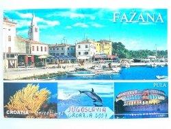 FAŹANA. CROATIA GREETINGS