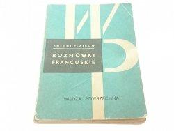 ROZMÓWKI FRANCUSKIE - Antoni Platkow 1974