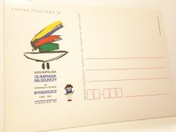 KARTKA POCZTOWA #012 OGÓLNOPOLSKA OLIMPIADA