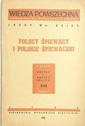 POLSCY ŚPIEWACY I POLSKIE ŚPIEWACZKI - Józef Wł. Reiss 1948
