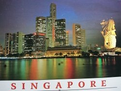 SINGAPORE. AN INDEPENDENT ISLAND NATION