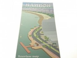 SANTOS. THE GOOD LIFE - TOURIST MAP
