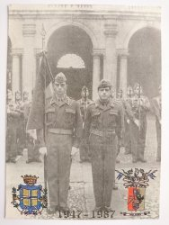 LA BANDIERA DELL'ACCADEMIA MILITARE, SIMBOLO DELL'ITALIA REPUBBLICANA 1947-1987
