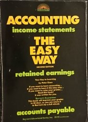 ACCOUNTING INCOME STATEMENTS THE EASY WAY 1989